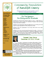 Fall 2010 Newsletter