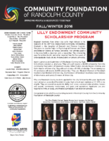Fall-Winter Newsletter 2016