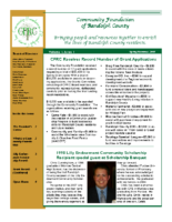 Spring-Summer 2007 Newsletter